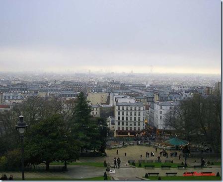 París desde el Sacre-Coeur