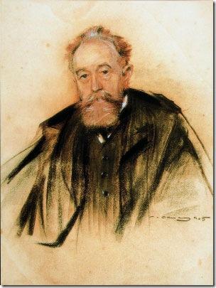 Beruete pintado por Ramón Casas