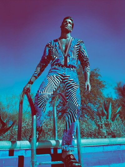Ryan Barrett by Mert & Marcus for Versace S/S 2012