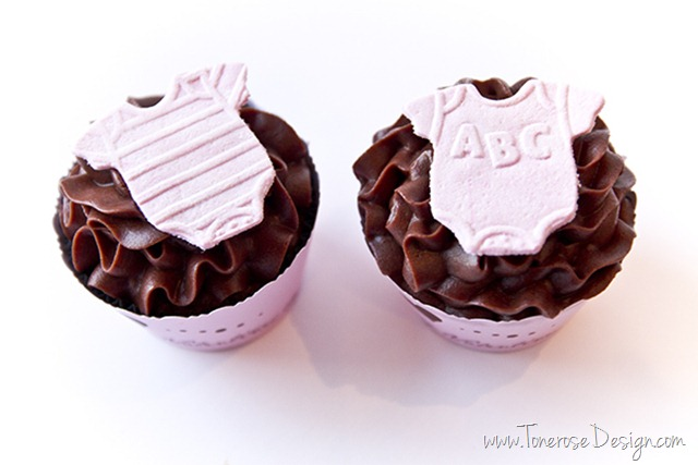cupcakes til barselbesøk baby cupcakes dåp IMG_4036