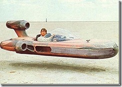 Landspeeder de Luke Skywalker