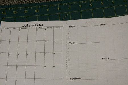 Fabric Covered Monthly Planner Tutorial (7)