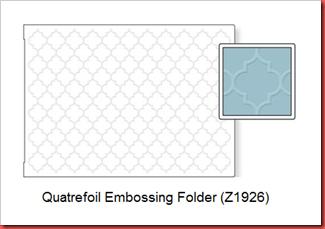Emb Folder Quatrefoil