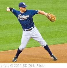 'Logan Forsythe San Diego Padres' photo (c) 2011, SD Dirk - license: http://creativecommons.org/licenses/by/2.0/