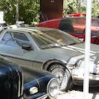 La DeLorean n'a visiblement pas voyagé dans le temps depuis un bon moment.