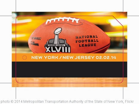 'Super Bowl MetroCards' photo (c) 2014, Metropolitan Transportation Authority of the State of New York - license: http://creativecommons.org/licenses/by/2.0/
