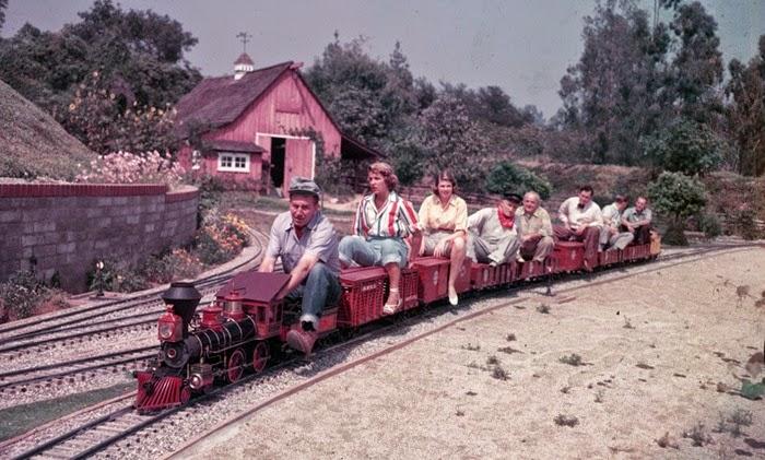 Disney e os trens