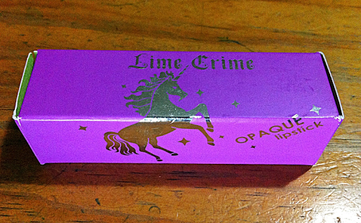 Lime Crime Poisonberry Opaque Lipstick