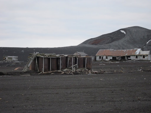 Remains of the Hektor Whaling Station on Deception Island.