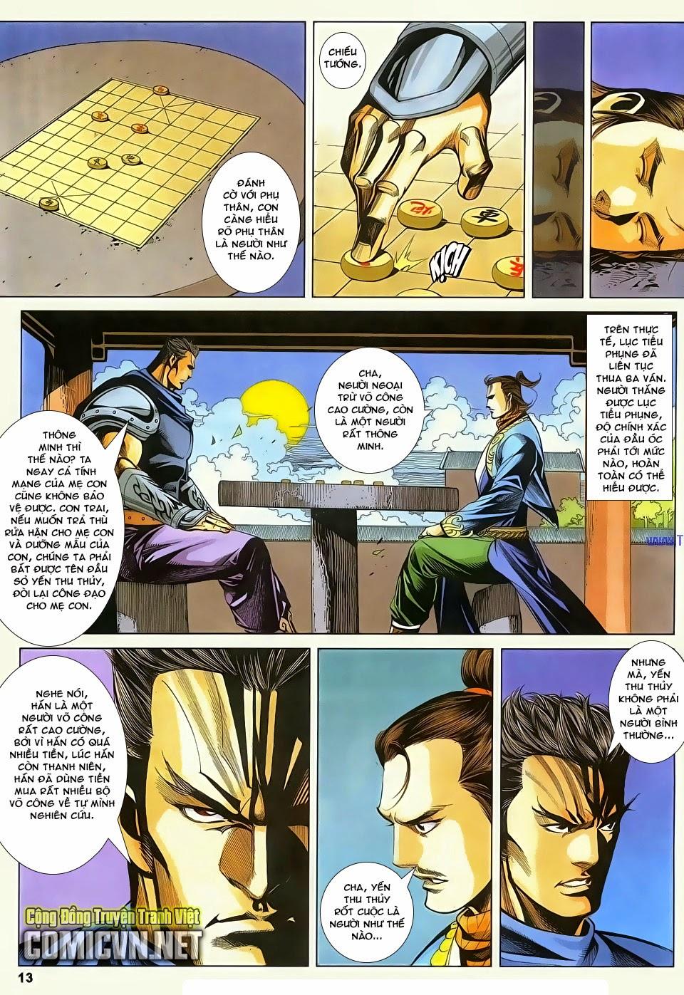 Cổ Long Quần Hiệp Truyện chap 83 - Trang 13