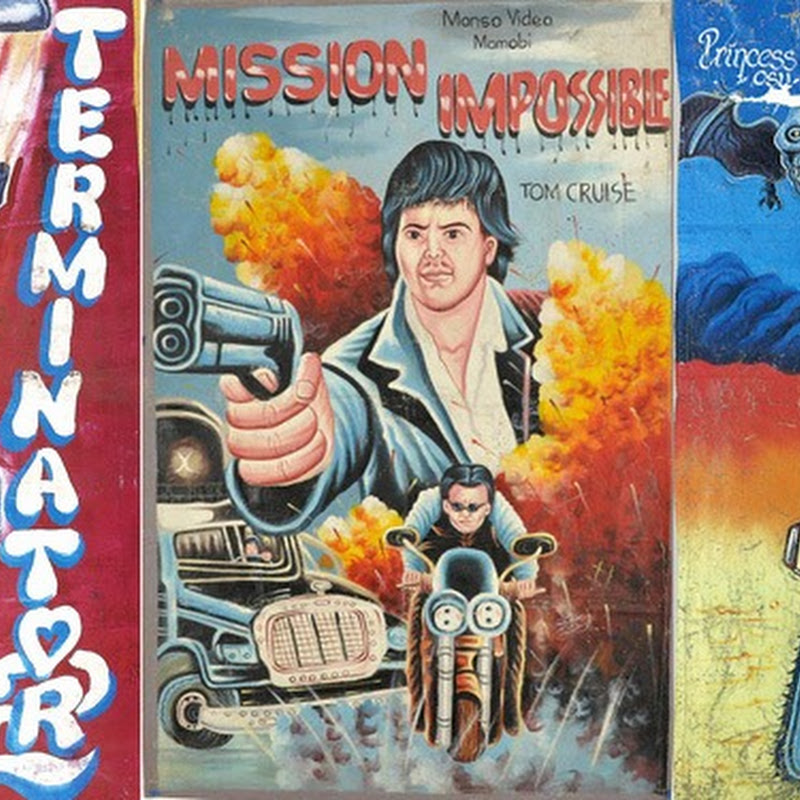 Hand Painted Movie Posters From Ghana