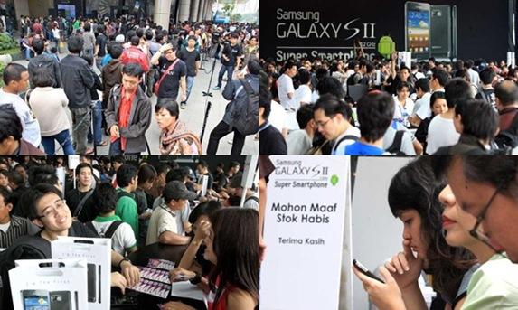 Peluncuran Samsung Galaxy S II