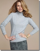 Pure Collection Polo Neck Sweater