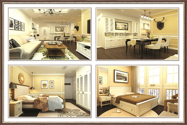 căn hộ 3 ngủ chung cư hanoi landmark 51