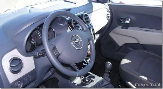 Dacia Lodgy testdagen 10