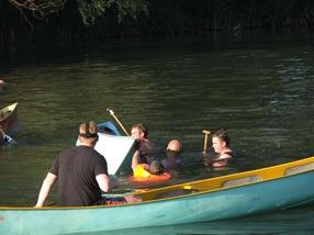 guerra de canoas