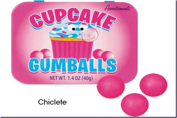Cupcake-Chiclete