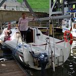DSC00062.JPG - 17.05.2013. Podnośnia statków w Niederfinow; Ewa3 i Ewa w wannie