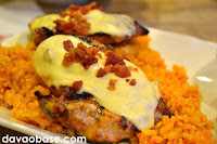 Bacon bits and oozing melted cheese on top of grilled chicken. Bistro Chicken is a winner!