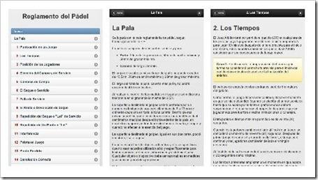 Revisa el Reglamento de Juego oficial de la Federación Española de Pádel.