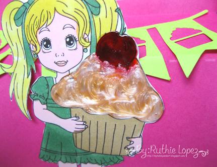 Inky Impressions - Birthday - Treat box - Ruthie Lopez DT 3