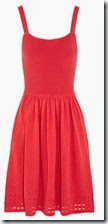 Alice by Temperley Red Knitted Dress
