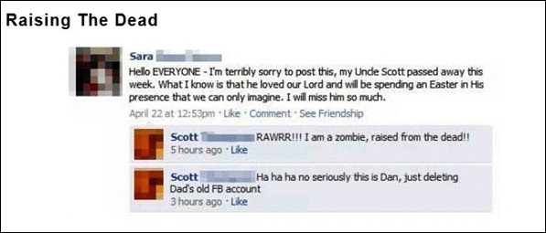 The 7 Funniest Facebook Statuses 02