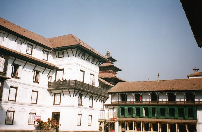 Imagini Nepal: Royal palace Kathmandu.jpg