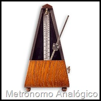 metronomo analogico