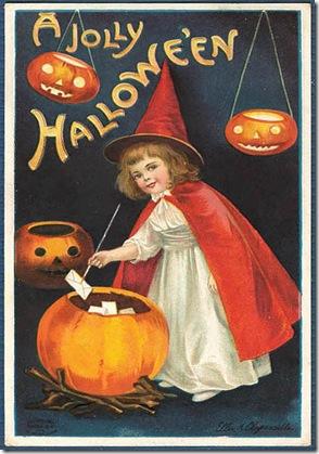 halloween pretty witch