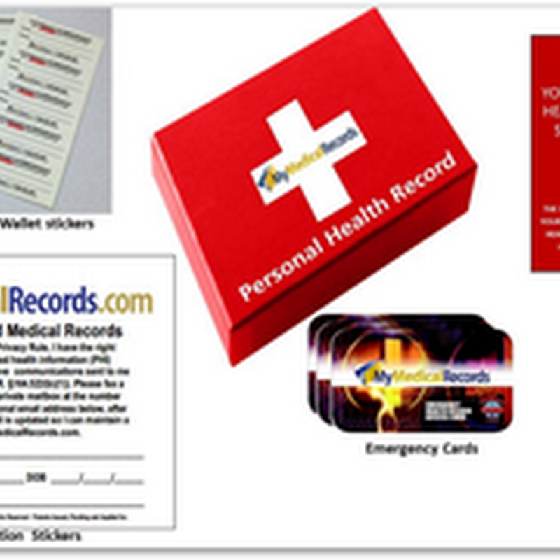 PHR in A Box From MyMedicalRecords - Starter Kit Soon Available Via Major Retailers and Etailers