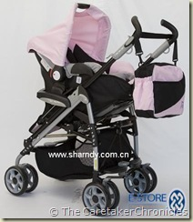 baby buggy no bumpers