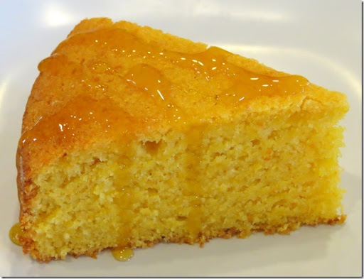 Paleo Olive Oil Orange Cornmeal Cake