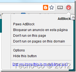 huella gato adblock plus
