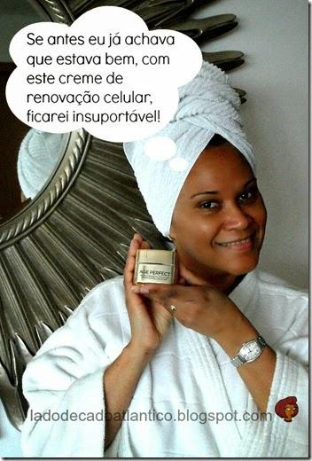 Imagem com o creme enviado por Youzz.net da campanha do Creme Age Perfect Renovação Celular da L'Oréal Paris