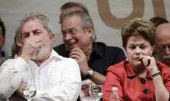 Lula Dirceu e Dilma