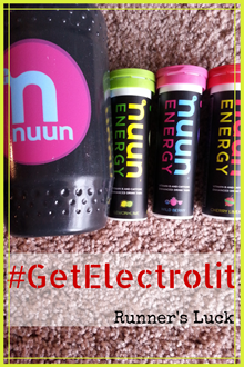 #GetElectrolit with Nuun Energy