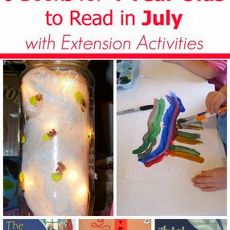 6 July Books for 4 Year Olds