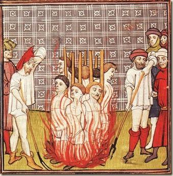 Cremação ou Fogueira 016 Templários