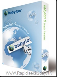 Get & Download Babylon 9 - Translation Software and Dictionary Tool with a 30% Discount!