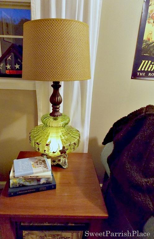 Vintage Green Lamp2
