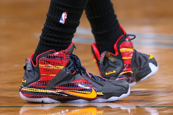 King James Debuts His Own 822023 Chromosomes8221 LeBron 12 PE