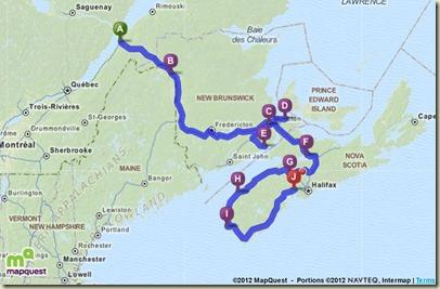 Black Point Route