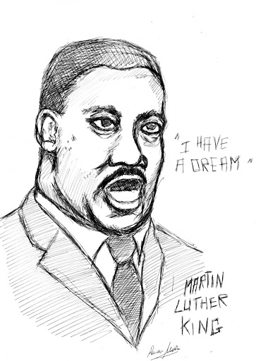 martin luther king jr dibujo para colorear. martin luther king jr ...