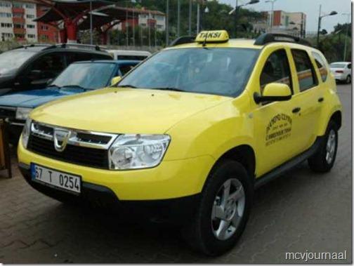 Dacia Duster Taxi 01
