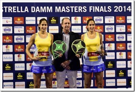 Las gemelas Sánchez Alayeto Campeonas en el Masters Finals WPT 2014.