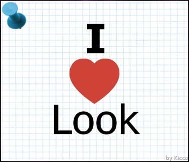 i love look