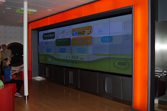 The Edge interactive screen