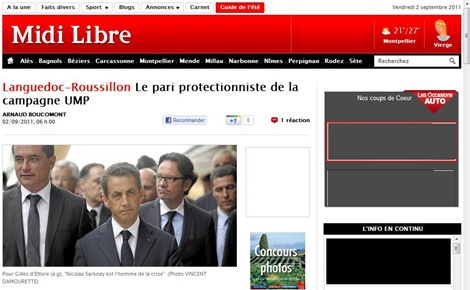 Portada Midi Libre Web