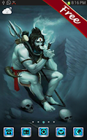 Screenshot of God Shiva Go Launcher Theme